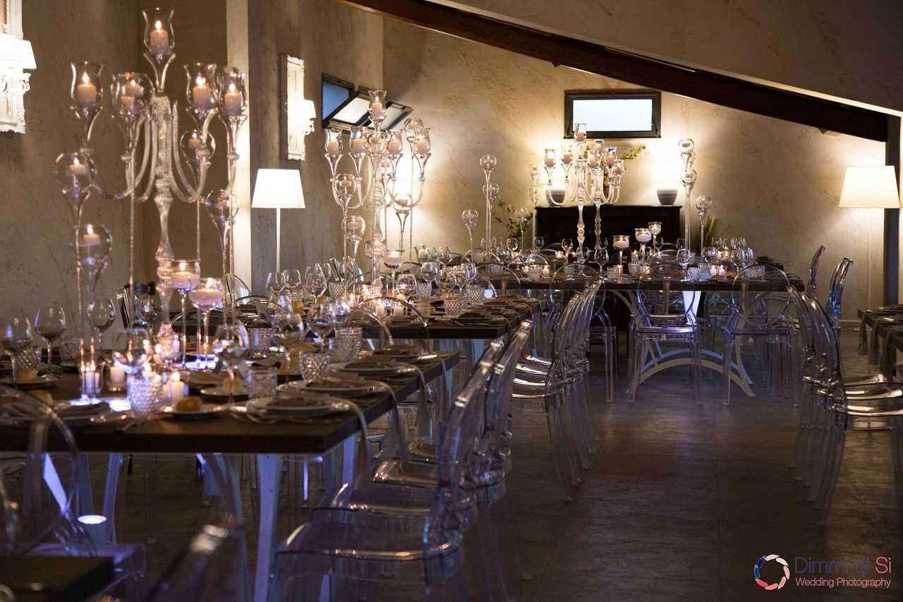 Cristalli e Candele per un effetto 'luxury'