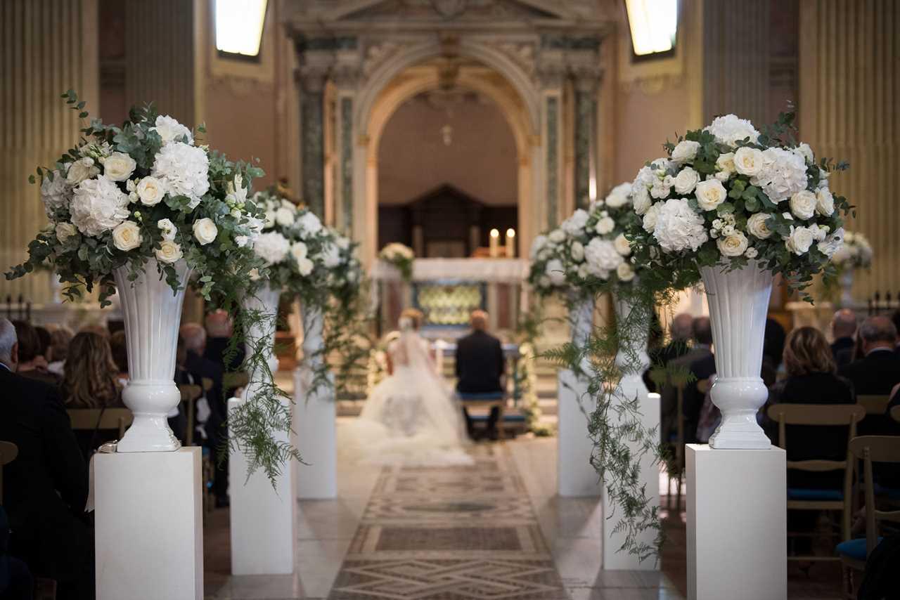 S.Alessio e Villa Dino per un matrimonio curato nei minimi dettagli