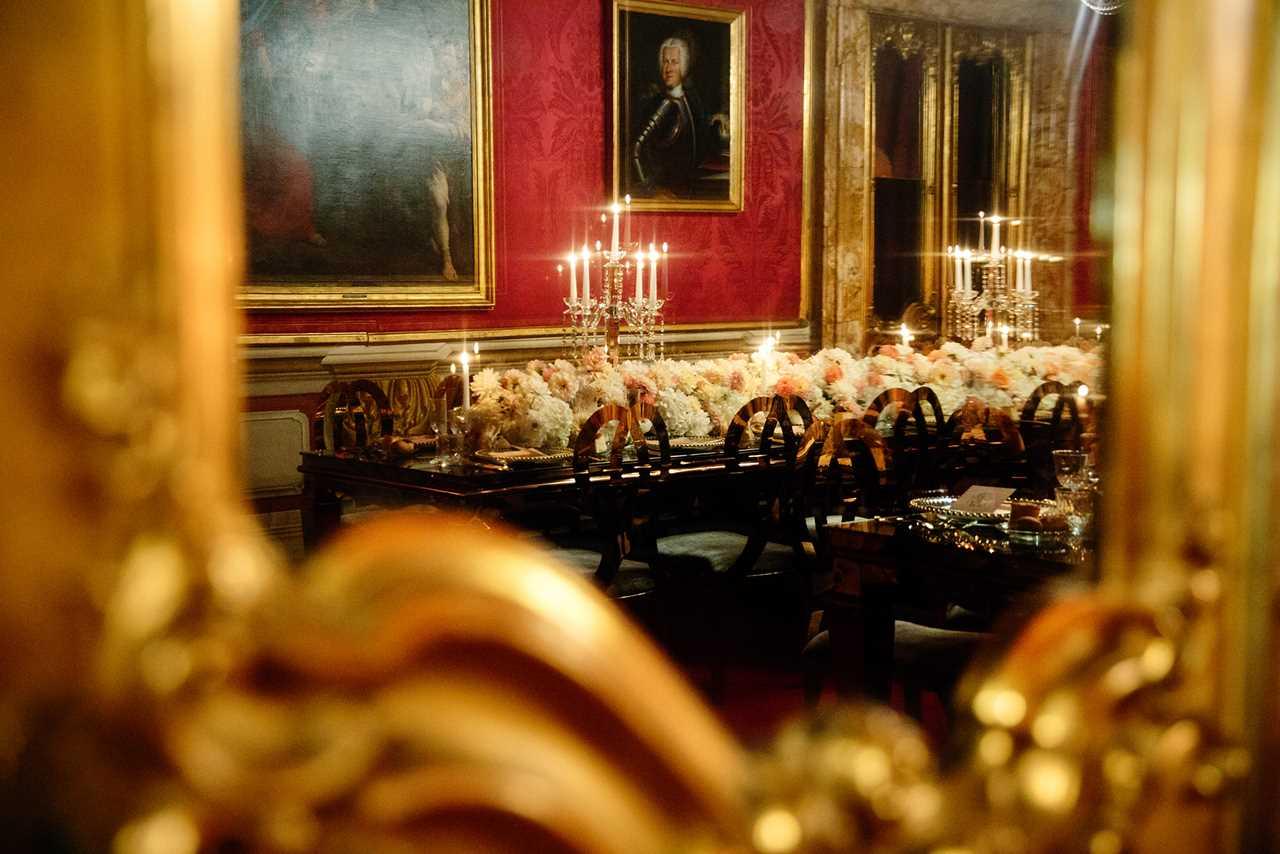 Un evento di lusso alla Pinacoteca del Tesoriere