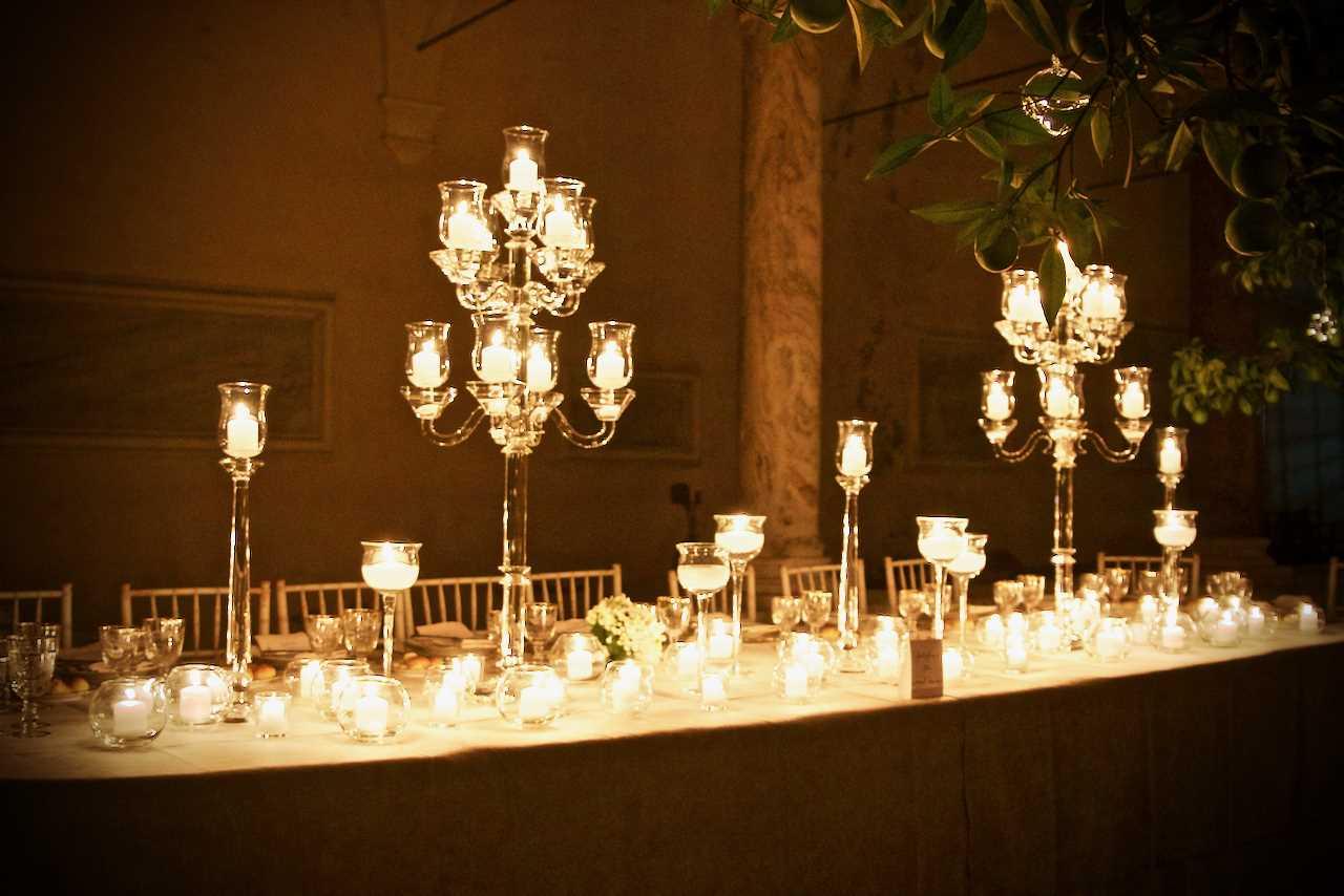 Luci e Cristalli in una delle più belle 'terrazze' di Roma