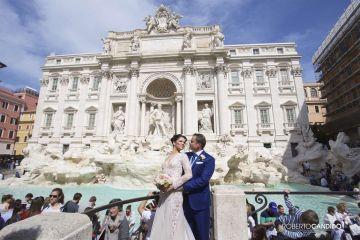 Engagement & Destination Wedding a Roma