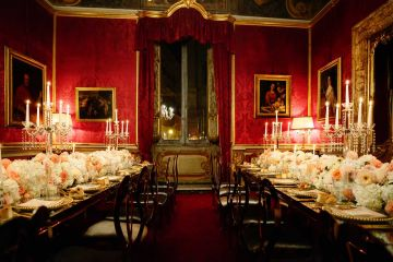 A luxury event at Pinacoteca del Tesoriere