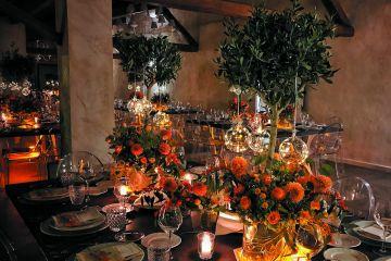Flavia & Gianluca - un matrimonio tra gli ulivi ed il colore