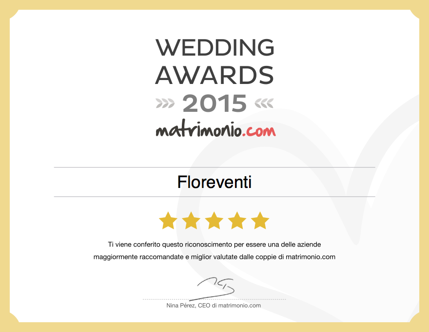 Wedding Awards 2015
